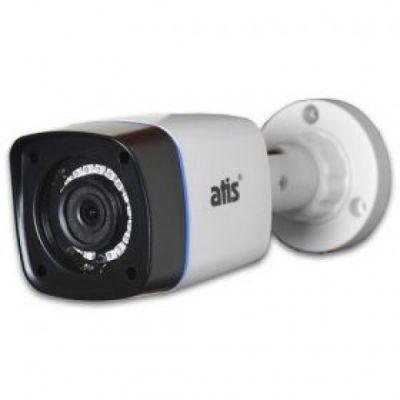 AMW-2MIR-20W/2.8 Lite Мультиформатная уличная цилиндрическая 2MP видеокамера AHD+CVI+TVI+CVBS с ИК-подсветкой