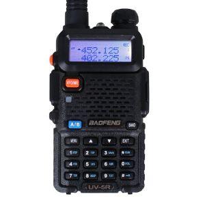 Одна из самых популярных на сегодняшний день любительских радиостанций BaoFeng UV-5R