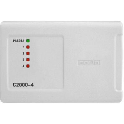 С2000-4 Прибор приемно-контрольный охранно-пожарный с контроллером ограничения доступа