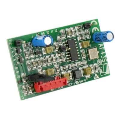 AF43RU  Радиоприемник 1-но канальный встраиваемый для TOP-432EE, TOP-434EE, TAM 432SA