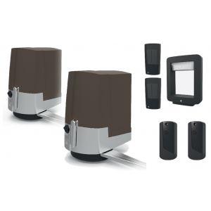 FAST Brown комплект автоматики для распашных ворот на широких столбах