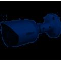 DH-HAC-HFW1409TP-A-LED-0360B Уличная цилиндрическая HDCVI 4Мп мультиформатная Full-color камера со встроенным микрофоном