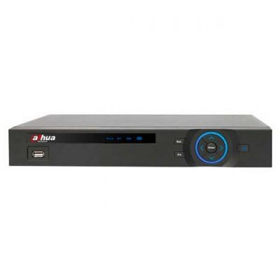 4-канальный 1080р HD-CVI видеорегистратор. Аудио: 4вх/1вых. Видео стандарт: HDCVI, Analog, IP (max 2 IP) камеры.