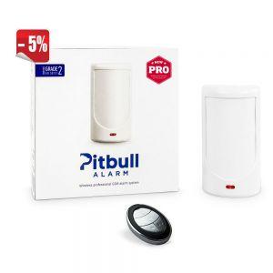 PITBULL ALARM PRO 2G/3G Профессиональная беспроводная охранная система для защиты небольших и средних объектов