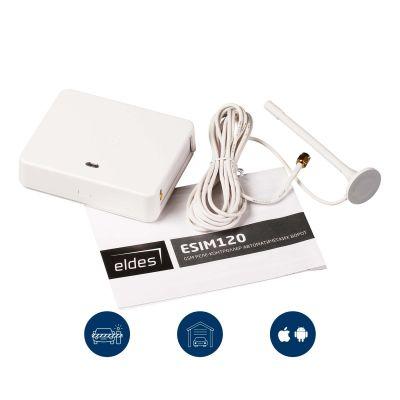 ESIM120 - GSM модуль управления шлагбаумом (воротами) с телефона
