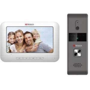 Комплект видеодомофона DS-D100K с вызывной панелью, разрешением 720 x 576 @ 25 к/с