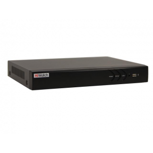 DS-H204U  4-х канальный мультиформатный HD-TVI  регистратор для аналоговых, HD-TVI, AHD  и CVI камер + 1 IP-канал (до 5 с  замещением аналоговых)