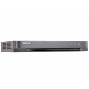 DS-H304QAF 4-канальный гибридный HD-TVI регистратор c технологией AcuSense и AoC (аудио по коаксиальному кабелю)
