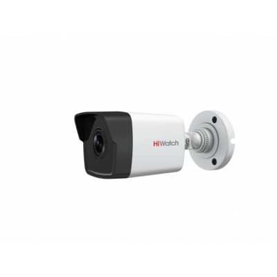 Уличная сетевая 720p камера HiWatch DS-I100 с ИК-подсветкой EXIR