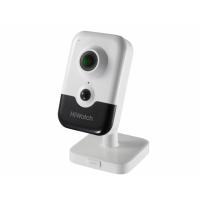 DS-I214(B) 2Мп IP-видеокамера с EXIR-подсветкой до 10м, микрофоном и динамиком