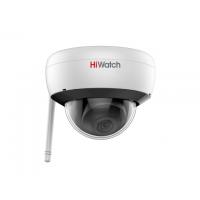 DS-I252W(B) 2 Мп купольная IP-видеокамера с EXIRподсветкой до 30 м, Wi-Fi и микрофоном