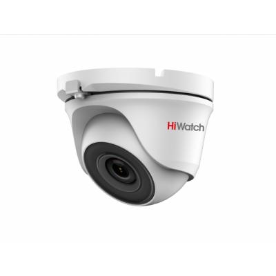 DS-T203S Внутренняя купольная HD-TVI 2Mp (1920х1080) видеокамера с ИК-подсветкой до 30м