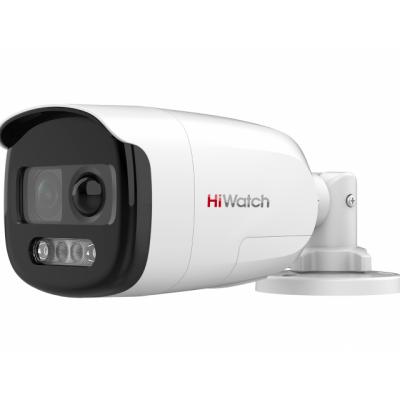 DS-T210X 2Мп цилиндрическая HD-TVI видеокамера с PIR-датчиком и EXIR-подсветкой до 40м