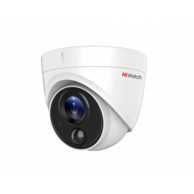DS-T213 Внутренняя купольная HD-TVI 2Mp (1920х1080) видеокамера с ИК-подсветкой до 20м