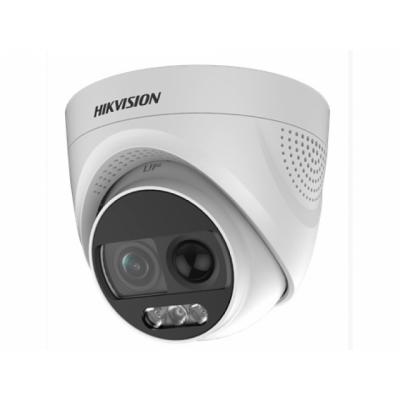DS-2CE72DFT-PIRXOF28 2 Мп Уличная купольная HD-TVI камера с подсветкой до 20 м с технологией ColorVu