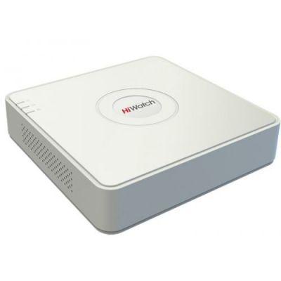 DS-H104UA 4-канальный гибридный HD-TVI регистратор c технологией AoC (аудио по коаксиальному кабелю)