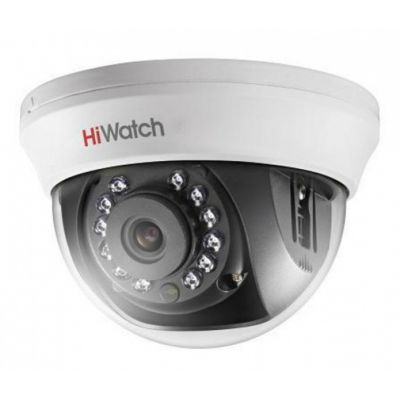DS-T101  Внутренняя купольная HD-TVI 1Mp (1296х732) камера с ИК-подсветкой до 20м
