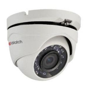 DS-T103  Всепогодная купольная HD-TVI 1Mp (1296х732) камера с ИК-подсветкой до 20м