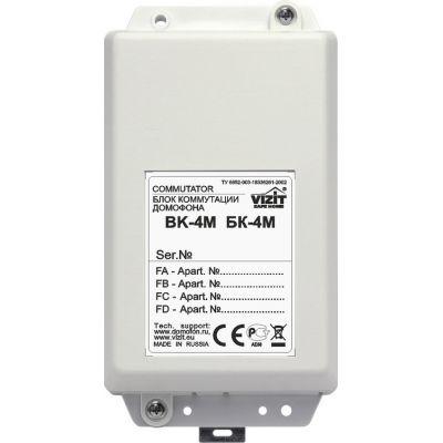 Блок коммутации домофона БК-4М