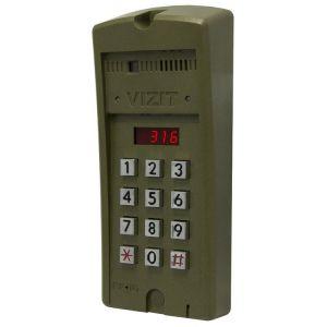 Блок вызова домофона БВД-316RCP