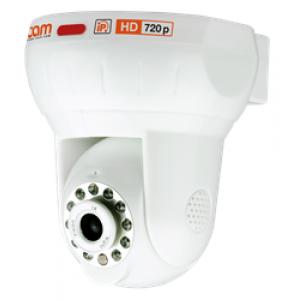 NP100F IP Поворотная IP видеокамера 720p с ИК-подсветкой и вcтроенным WI-FI модулем