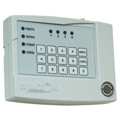 Приток-А-КОП-02 (2 х GSM + Ethernet) 4-х шлейфный контроллер охранно-пожарный с возможностью передачи сигнала по сети сотовой связи GSM, а также по обычной локальной сети (в том числе через интернет)