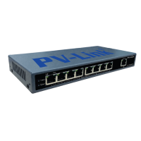 PV-POE8M1 Неуправляемый 9-ти портовый сетевой PoE коммутатор с 8-ю портами PoE