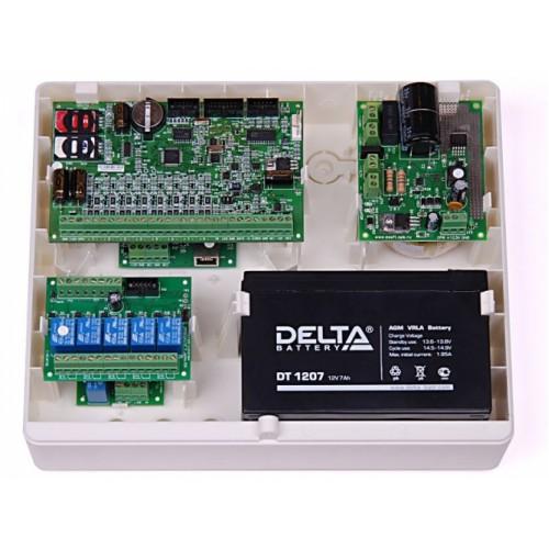 Купить в Костроме РИТМ Контакт GSM-5-2 Охранно-пожарная панель с возможностью подключения проводных извещателей, без поддержки г