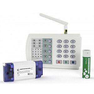 Бюджетная проводная охранная панель Контакт GSM-9K