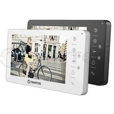 AMELIE SD (XL или VZ) Монитор цветного видеодомофона уменьшенной толщины, экран 7 дюймов, с сенсорными кнопками