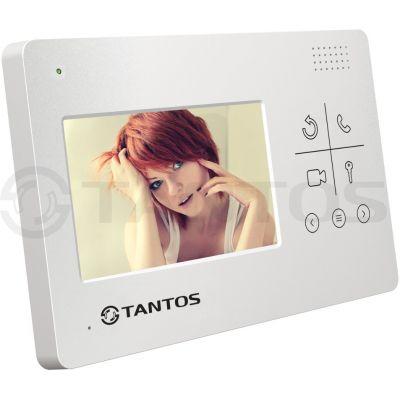 Монитор видеодомофона LILU lux (XL или VZ) c диагональю 4,3 дюйма с гладкой передней панелью