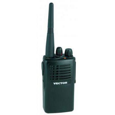 VT-44 Master Vector Радиостанция носимая (портативная) LPD / PMR 433-446 МГц с прочным корпусом и простым управлением
