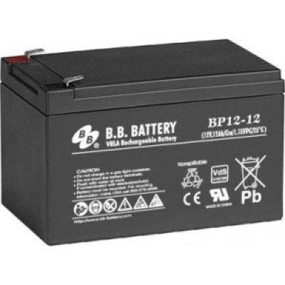 Герметизированная аккумуляторная батарея с абсорбированным электролитом BB Battery BP 12-12